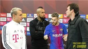 Tới Barca, Vidal gặp rắc rối với những bình luận về Messi