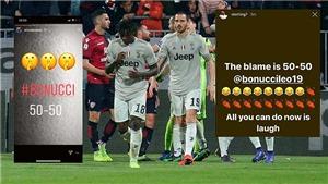 Các ngôi sao bóng đá kịch liệt chỉ trích Bonucci vì không bảo vệ đồng đội Moise Kean