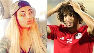Đồng đội Salah ở tuyển Ai Cập bị đuổi khỏi CAN vì tin nhắn gợi dục với người mẫu