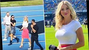Ngắm nhan sắc của nữ MC thể thao bị trêu chọc vì quá nóng bỏng