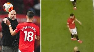 MU 2-0 Man City: Bruno Fernandes đã đúng khi phản ứng với Guardiola