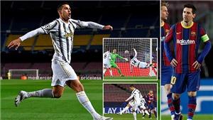 Barcelona 0-3 Juventus: Ronaldo lập cú đúp, Juve soán ngôi đầu của Barca