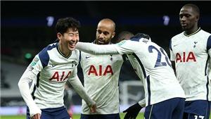 Tottenham 2-0 Brentford: Son Heung-min ghi bàn, Spurs vào CK Cúp Liên đoàn Anh