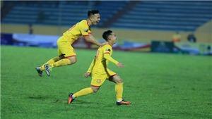 VIDEO: Bàn thắng và highlights Nam Định 1-2 Khánh Hòa