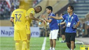 Kết quả SLNA 1-1 Nam Định: Nam Định chính thức trụ hạng thành công