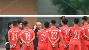 Bóng đá Việt Nam hôm nay: HLV Park Hang Seo triệu tập 3 cầu thủ U22 lên tuyển Việt Nam