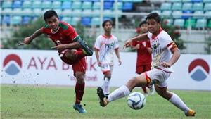 TRỰC TIẾP BÓNG ĐÁ: U18 Indonesia vs U18 Philippines (15h30), U18 Lào vs U18 Myanmar (16h)