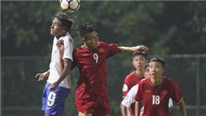 U16 Việt Nam đá trận 'sinh tử' với Indonesia