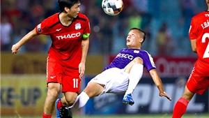 Bóng đá Việt Nam hôm nay: HAGL vs Sài Gòn (17h00). Thanh Hóa vs Nam Định (17h00). Hà Nội vs SLNA (19h)