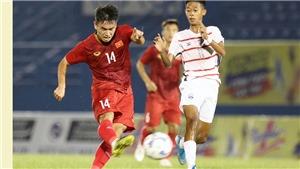 U20 Việt Nam không thể gây bất ngờ ở trận chung kết BTV Cup 2019