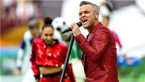 Dù có quan hệ với giới chính trị, Robbie Williams có thể phải vào tù vì hành vi tục tĩu ở World Cup