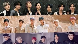BTS thắng cách biệt trên BXH nhóm nhạc nam tháng 5, tròn 2 năm đứng No.1