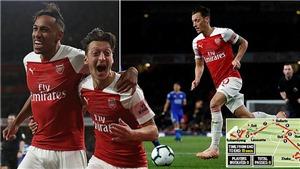 ĐIỂM NHẤN Arsenal 3-1 Leicester: Oezil truyền cảm hứng, Aubameyang hiệu quả, Pháo thủ tiếp tục thăng hoa