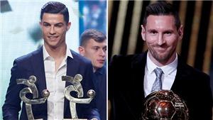 Ronaldo phản ứng thế nào khi Messi giành Quả bóng vàng thứ sáu?