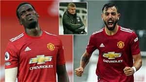 MU: Ole có dám tiếp tục loại  Pogba vì Bruno Fernandes?