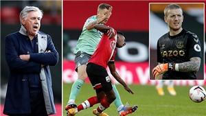 Ancelotti: 'Thẻ đỏ của Digne là một trò hề, Everton bị phạt là vì vụ Van Dijk'