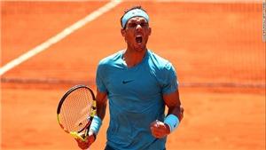 Kết quả Roland Garros 4/10, sáng 5/10: Nadal thắng dễ, Thiem nhọc nhằn, Zverev bị loại, Halep thua sốc