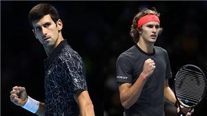 Video clip highlights Djokovic vs Zverev. Kết quả ATP Finals