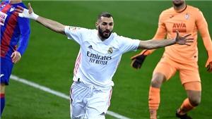 Eibar 1-3 Real Madrid: Benzema tỏa sáng, Real Madrid trở lại cuộc đua vô địch
