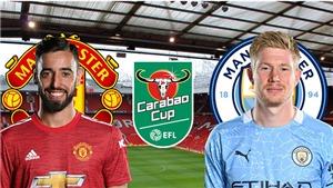Lịch thi đấu bán kết Cúp Liên đoàn Anh: MU đại chiến Man City, Tottenham gặp Brentford.