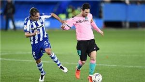 Video clip bàn thắng trận Barcelona vs Alaves