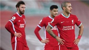 Bảng xếp hạng Ngoại hạng Anh: Liverpool ngày càng rời xa Top 4