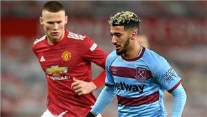 Link xem trực tiếp MU vs West Ham. K+PM trực tiếp bóng đá Ngoại hạng Anh