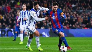 Video clip bàn thắng trận Real Sociedad vs Barcelona
