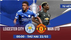 Video clip bàn thắng trận Leicester vs MU