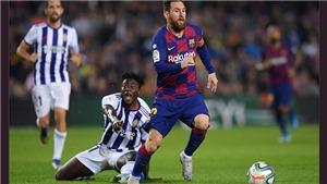Link xem trực tiếp Barcelona vs Valladolid. BĐTV trực tiếp bóng đá Tây Ban Nha La Liga