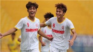 Link xem trực tiếp U19 Nutifood vs U19 Sài Gòn. VFF Channel trực tiếp tứ kết U19 quốc gia