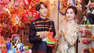 Bỏ mặc Trần Thành, Hari Won hào hứng đón Trung thu bên trai đẹp