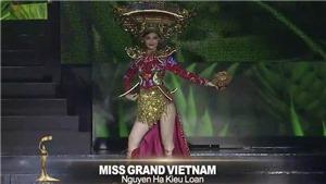 Gặp sự cố bất ngờ trên sân khấu Hoa hậu Hòa bình Quốc tế 2019, Kiều Loan nói gì?