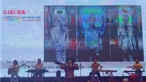Festival Mỹ thuật trẻ 2020 trưng bày 91 tác phẩm