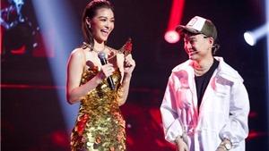 'King Of Rap' tập 1: Á hậu Kiều Loan 'bắn ráp' lên án việc bị chê 'chân dài não ngắn'