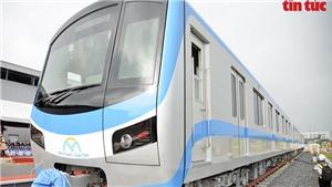 TP Hồ Chí Minh tổ chức lễ đón đoàn tàu đầu tiên của metro Bến Thành-Suối Tiên