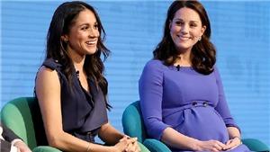 Công nương Kate phản ứng sao trước thông báo em dâu Meghan Markle mang bầu