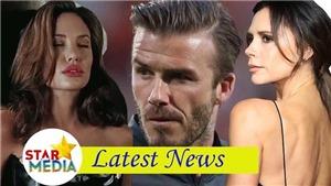 Thực hư quanh thông tin Angelina Jolie muốn 'cướp' David Beckham khỏi tay Victoria