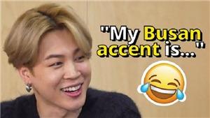 Jimin khiến BTS bật cười khi nói về giọng Busan quê hương
