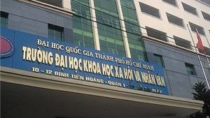Điểm chuẩn Trường ĐH Khoa học xã hội và Nhân văn TPHCM
