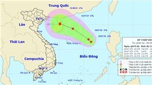 Dự báo thời tiết: Vùng áp thấp có thể mạnh lên thành áp thấp nhiệt đới trên Biển Đông