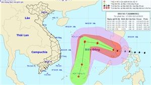 Bão số 7 năm 2019: Tin bão mới nhất trên Biển Đông