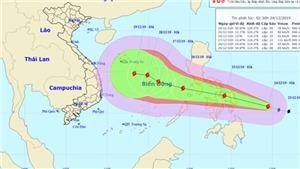Tin bão mới nhất cơn bão PhanFone gần Biển Đông
