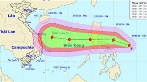 Tin bão mới nhất cơn bão Vamco gần Biển Đông