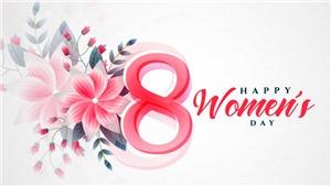 Thiệp chúc mừng ngày Quốc tế Phụ nữ 8/3 đẹp và ý nghĩa