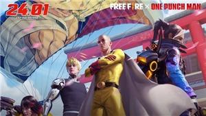 'Thử Thách Anh Hùng'dành cho người chơi Free Fire thông qua lần hợp tác mới nhất với One-Punch Man