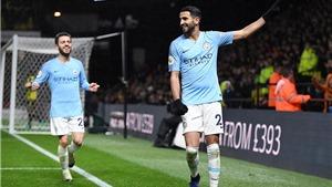 Video clip bàn thắng Watford 1-2 Man City: Mahrez tỏa sáng