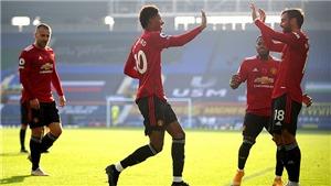 Everton 1-3 MU: Fernandes tỏa sáng rực rỡ. Cavani nổ phát súng đầu tiên