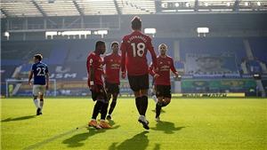 ĐIỂM NHẤN Everton 1-3 MU: Bruno Fernandes rực sáng. Solskjaer tạm thời được cứu