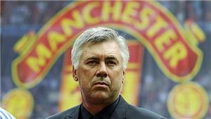 Sir Alex Ferguson từng muốn Carlo Ancelotti kế vị tại MU